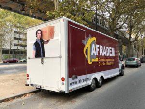 Camion transfert administratif